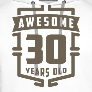 Awesome 30 Years Old - Men's Premium Hoodie