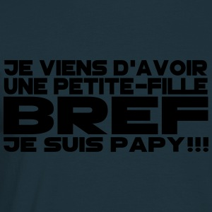 bref je suis papy 2 Tabliers - T-shirt Homme