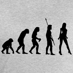 SEXY EVOLUTION! T-Shirts - Men's Sweatshirt by Stanley & Stella