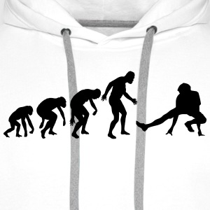 BREAKDANCE EVOLUTION Tee shirts - Sweat-shirt à capuche Premium pour hommes