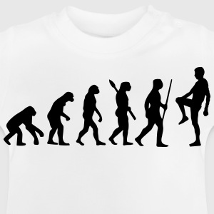 FITNESS FLAVOUR EVOLUTION SHIRT (NO PAIN NO GAIN BITCHES) Langarmshirts - Baby T-Shirt