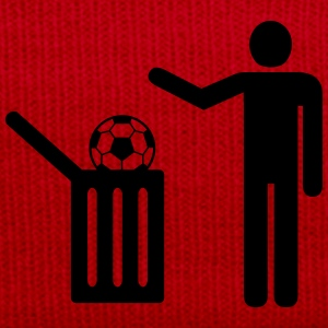 Football = trash T-shirts - Vintermössa
