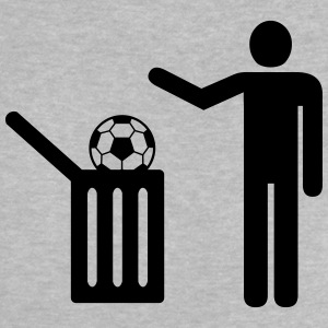 Football = trash Camisetas - Camiseta bebé