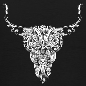 Head of a bull - White - Hoodies - Men's Premium T-Shirt