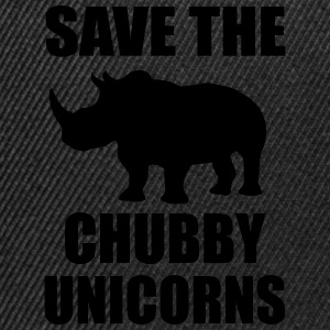 Save The Chubby Unicorn T-Shirts - Snapback Cap