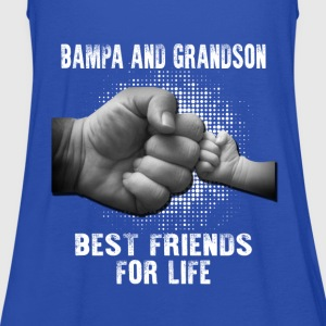 Bampa And Grandson Best Friends For Life T-Shirts - Women's Tank Top by Bella