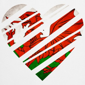 Wales Heart T-Shirts - Cooking Apron