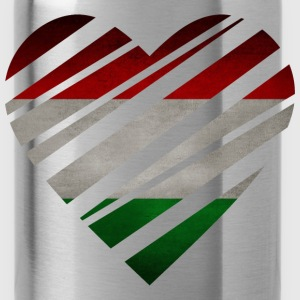 Hungary Heart Camisetas - Cantimplora