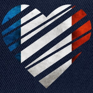 France Heart T-shirts - Snapback cap