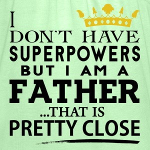 SUPER FATHER! T-Shirts - Women's Tank Top by Bella