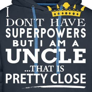 SUPER UNCLE! T-Shirts - Men's Premium Hoodie
