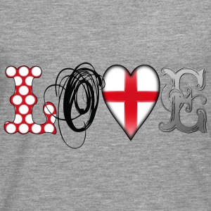 Love England Black T-Shirts - Men's Premium Longsleeve Shirt