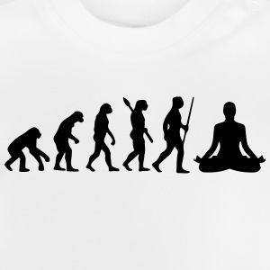 MEDITATION EVOLUTION! Long Sleeve Shirts - Baby T-Shirt