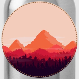 Sunset T-Shirts - Water Bottle