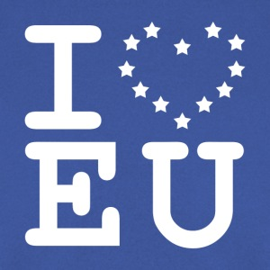 i love EU European Union Brexit T-Shirts - Men's Sweatshirt