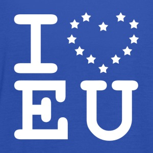 i love EU European Union Brexit T-Shirts - Women's Tank Top by Bella