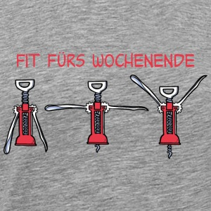 Fit fürs Wochenende - Men's Premium T-Shirt