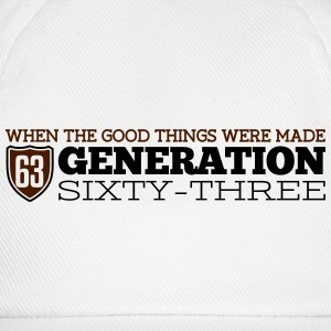 Generation 63 T-Shirts - Baseball Cap