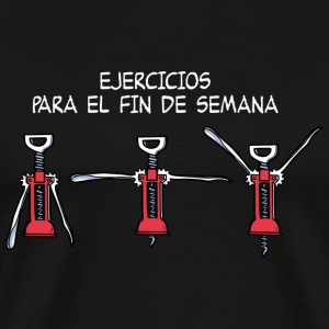 Ejercicios para el fin de semana Sports wear - Men's Premium T-Shirt