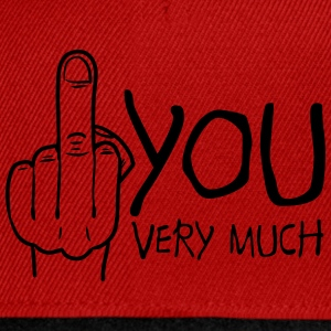 fuck you very much Camisetas - Gorra Snapback