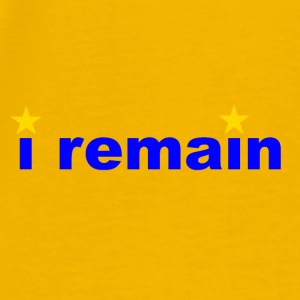 i remain - Men's Premium T-Shirt