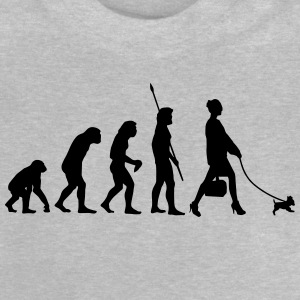 DOGS EVOLUTION! Long Sleeve Shirts - Baby T-Shirt