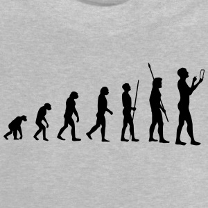 MOBILE EVOLUTION! Long Sleeve Shirts - Baby T-Shirt