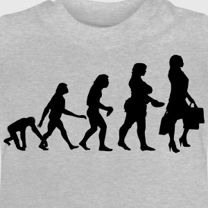SHOPPING QUEEN EVOLUTION Langarmshirts - Baby T-Shirt