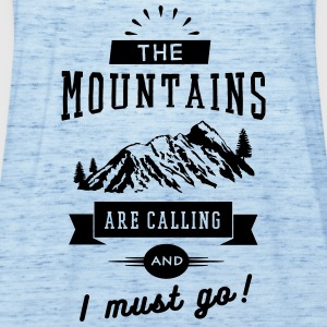 The Mountains Are Calling And I Must Go T-Shirts - Frauen Tank Top von Bella