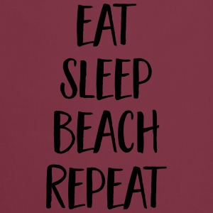 Eat, Sleep, Beach, Repeat T-skjorter - Kokkeforkle