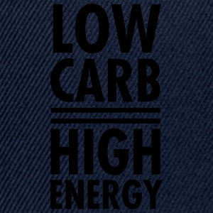 Low Carb - High Energy T-skjorter - Snapback-caps