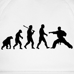 Evolution: Karate T-shirts - Baseballcap