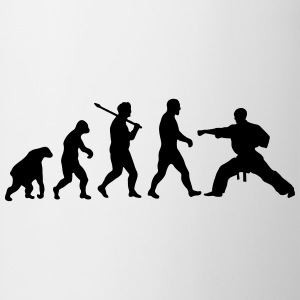 Evolution: Karate T-shirts - Mugg
