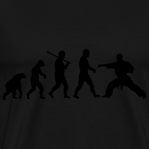 Evolution: Karate Sweat-shirts - T-shirt Premium Homme