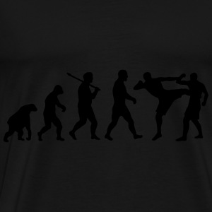 Evolution: Muay Thai/Kick Boxing Hoodies & Sweatshirts - Men's Premium T-Shirt