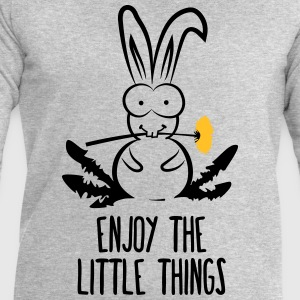 Hare pissenlits lapin de lapin lapin nain Manches longues - Sweat-shirt Homme Stanley & Stella
