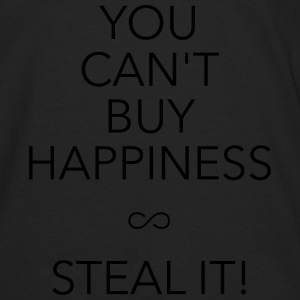 you can't buy happiness Pullover & Hoodies - Männer Premium Langarmshirt