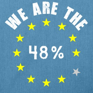 EU UK Referendum 48% Hoodies & Sweatshirts - Shoulder Bag made from recycled material