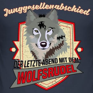 JGA - Wolfsrudel Team Pullover & Hoodies - Männer Slim Fit T-Shirt