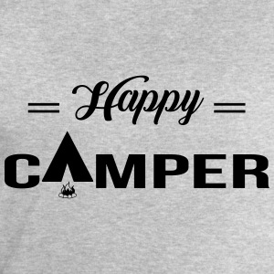 Happy Camper T-Shirts - Men's Sweatshirt by Stanley & Stella