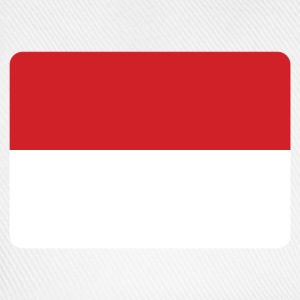 INDONESIEN FLAGGE T-Shirts - Baseballkappe