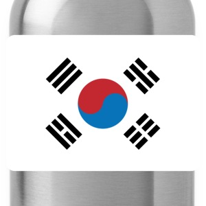 SOUTH KOREA FLAG T-Shirts - Water Bottle