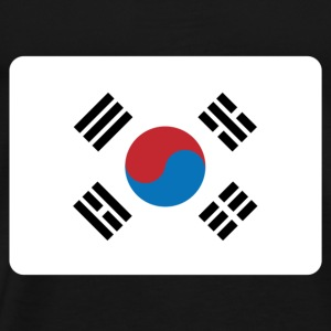 SOUTH KOREA FLAG Baby Bodysuits - Men's Premium T-Shirt