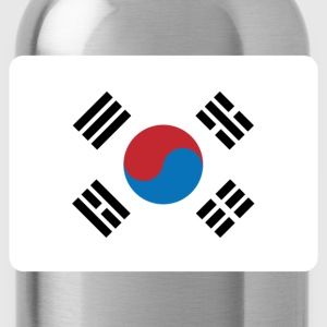 SOUTH KOREA FLAG Bags & Backpacks - Water Bottle