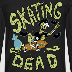 skating dead - T-shirt manches longues Premium Homme
