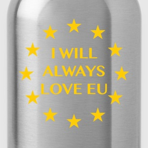 I will always love EU - Water Bottle