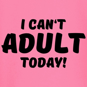 I can't adult today! Sportsklær - Langarmet baby-T-skjorte