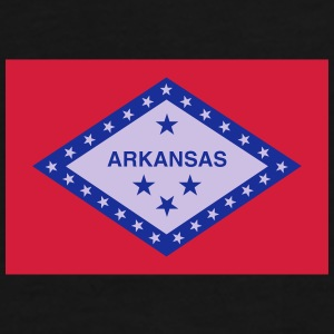 Flag Arkansas Mugs & Drinkware - Men's Premium T-Shirt