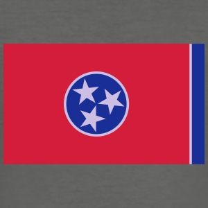 Flag Tennessee Bags & Backpacks - Men's Slim Fit T-Shirt