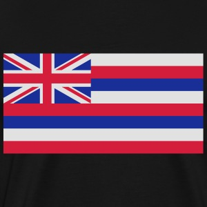 Flag Hawaii  Aprons - Men's Premium T-Shirt